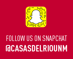 Follow us on snapchat @casasdelriounm
