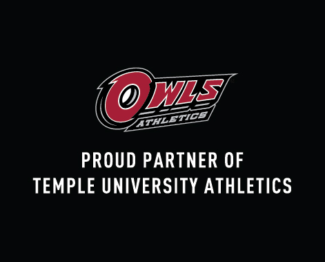 Proud partner of Temple University Athletics