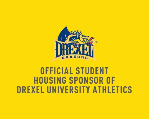 Official student housing sponsor of Drexel University Athletics