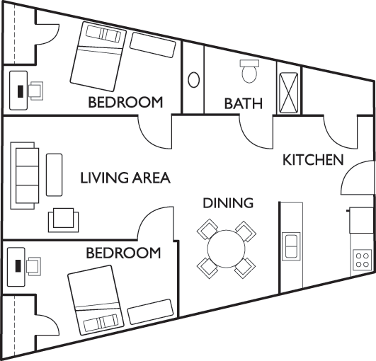 Floor plans tower at 3rd student apartments in champaign il 3 bedroom apartments in champaign il