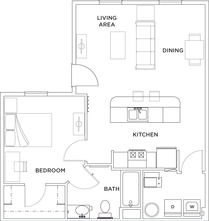 Floor Plans The Province Greensboro Student Apartments In Greensboro Nc