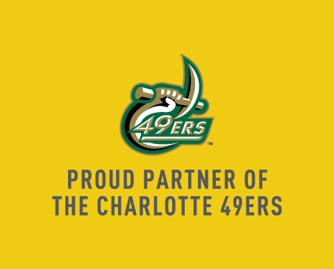 Proud Partner of The Charlotte 49ers