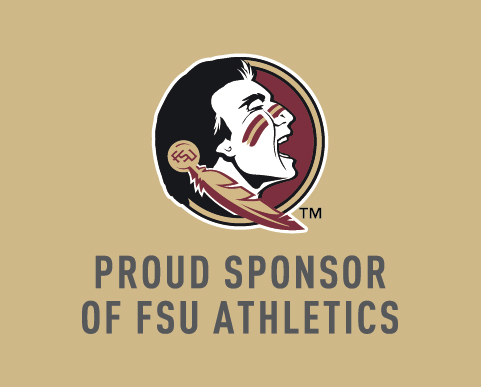 Proud Sponsor of Florida State University Athletics
