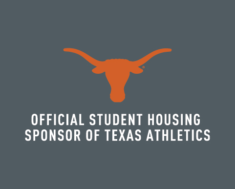 Official Student Housing Sponsor of Texas Athletics