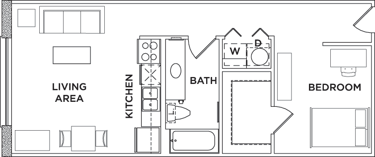 Floor Plans Sanctuary Lofts Student Apartments In San Marcos Tx