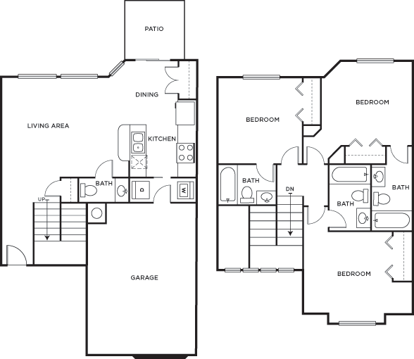 floor plans bishops square student apartments in san marcos tx