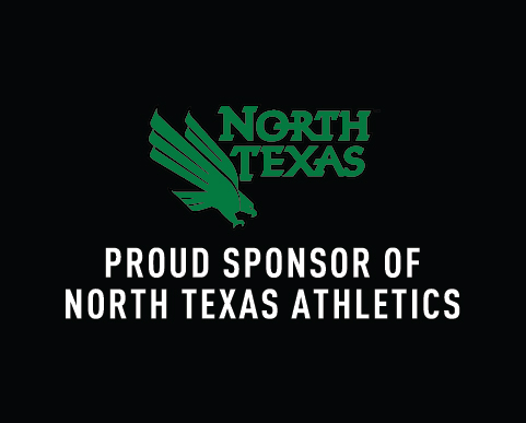 Proud Sponsor of North Texas Athletics