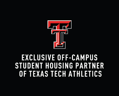 Exclusive Off-Campus Student Housing Partner of Texas Tech Athletics