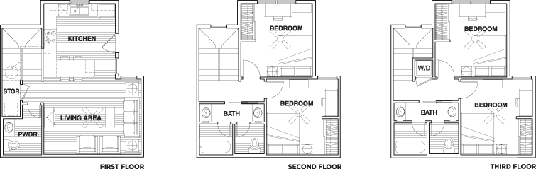 Floor Plans Villas At Callaway House Student Apartments In College Station Tx Near Texas A M